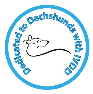 dedicated to dachshunds logo